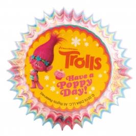 Cápsulas para cupcakes Trolls