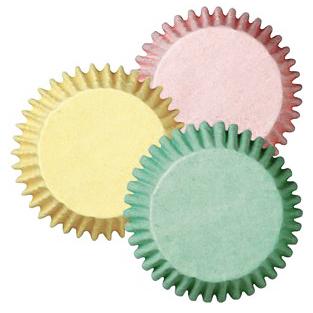 Cápsulas para Mini Cupcakes colores pastel