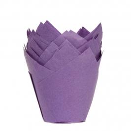 Cápsulas para Muffins color Violeta 36 uds.