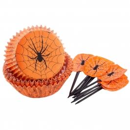 Set Decoración Cupcakes Araña