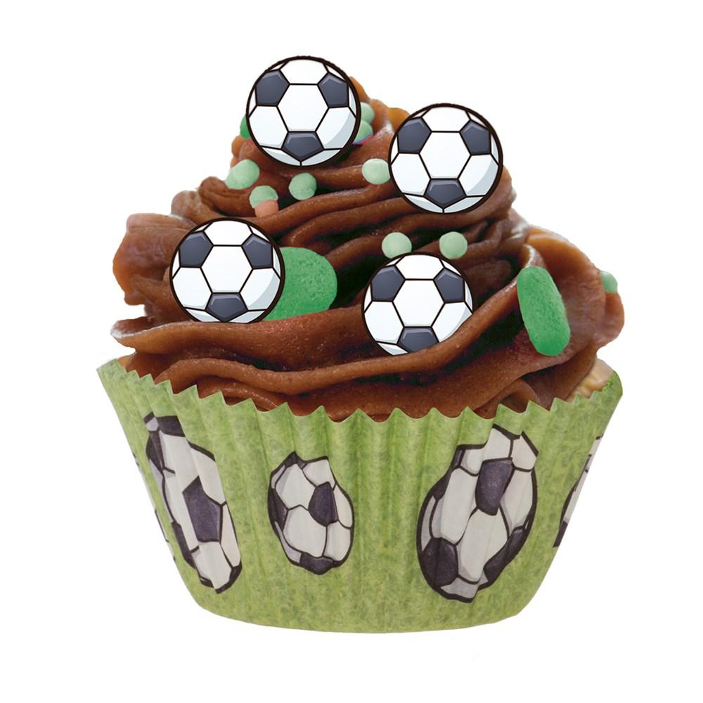 Cápsulas para Cupcakes Fútbol 25 Ud.