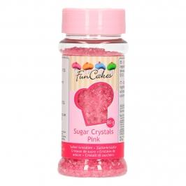 Cristales de azúcar Rosas