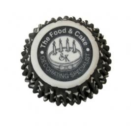 Mini Cápsulas cupcakes Lunares negro Squires Kitchen