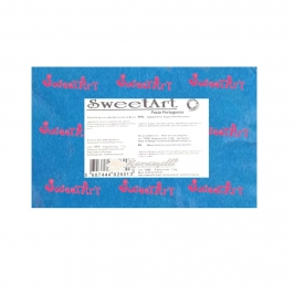 Fondant color Azul  Sweet Art 1 Kg
