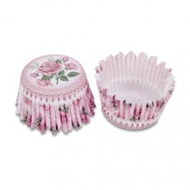 Cápsulas de cupcakes Jardín de Rosas (100 uds)
