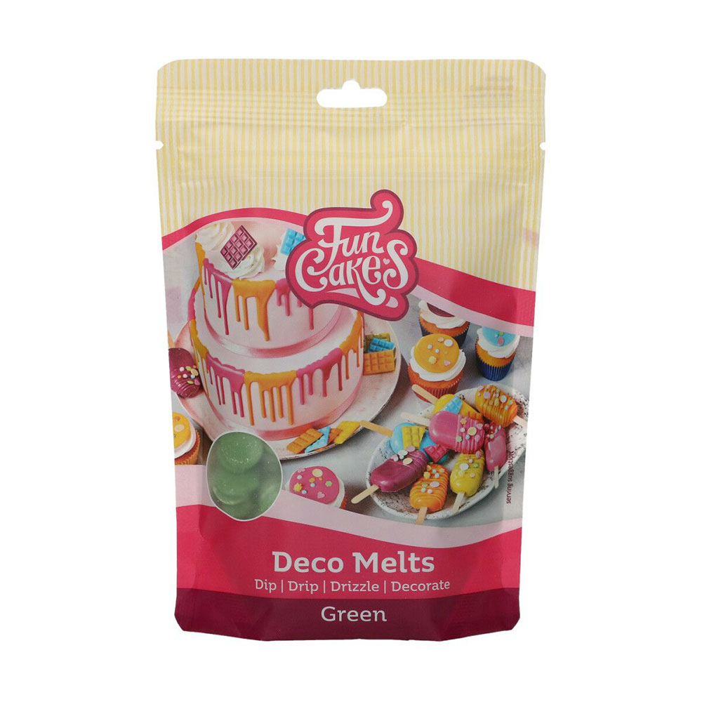 Deco Melts color Verde 250 gr