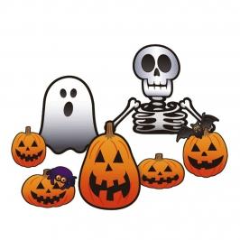 Decoración de Pared Halloween 7 ud