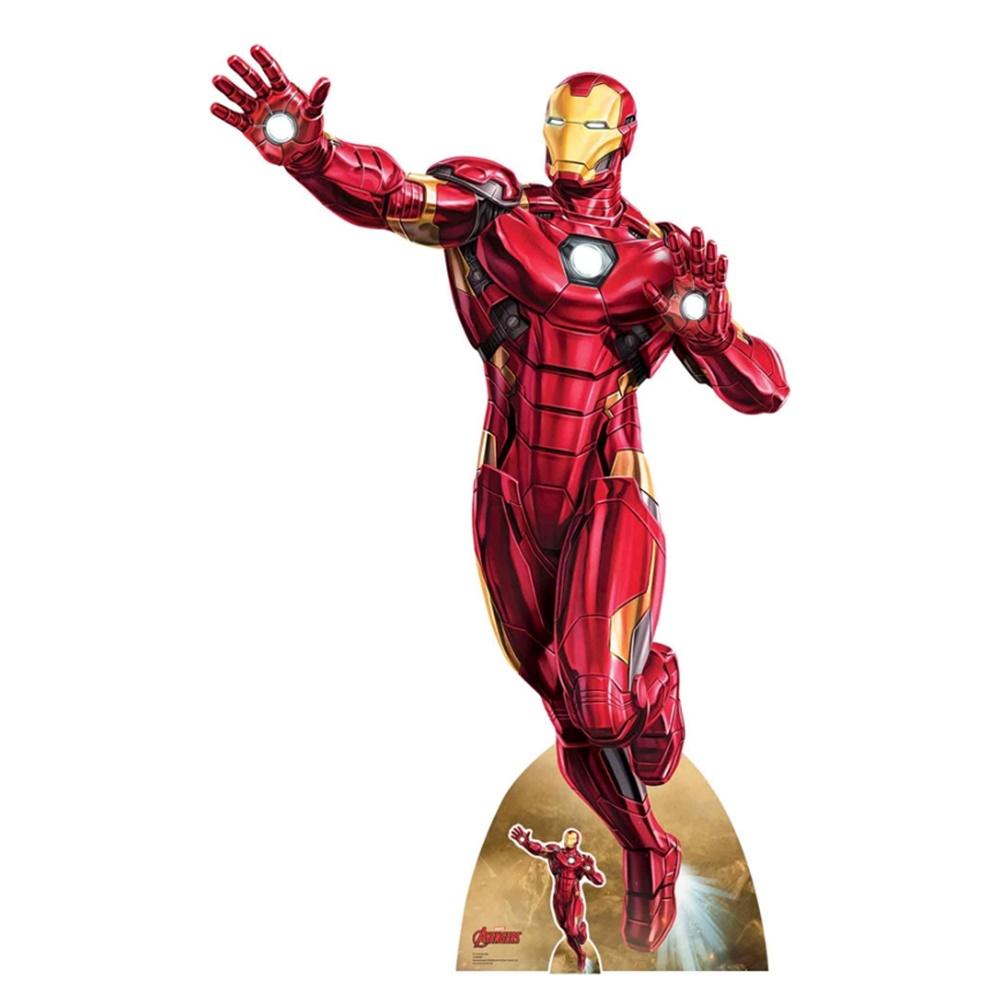 Decoración Photocall Iron Man Infinity War 190 cm
