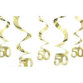 Decoración colgante 50 Aniversario