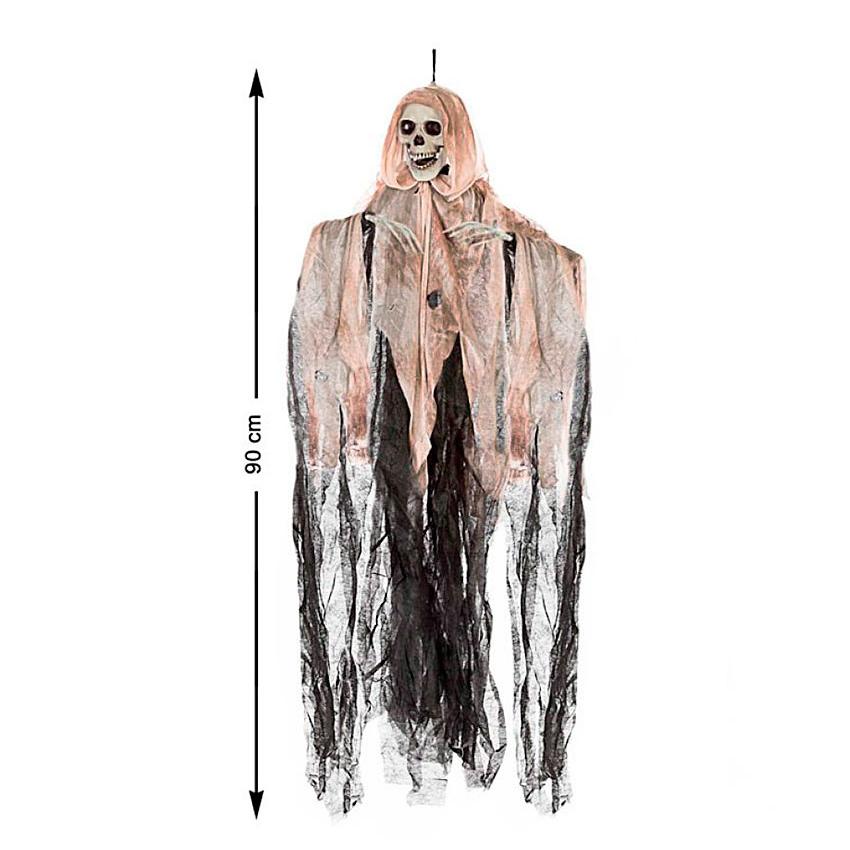Decoración Colgante Esqueleto 90 cm