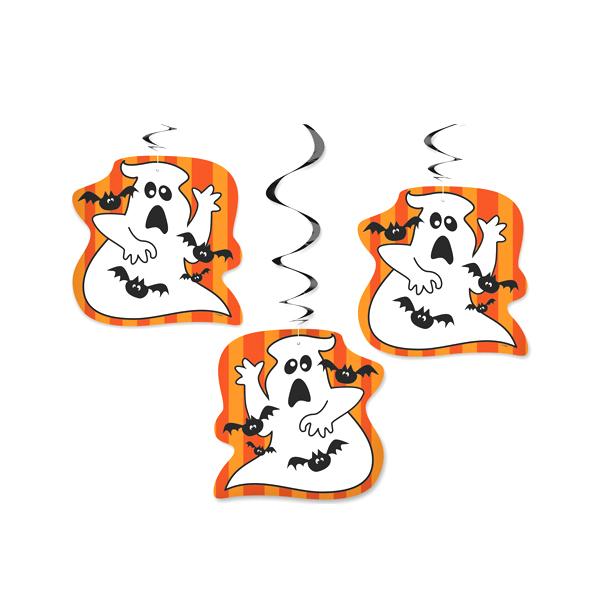 Decoraciones Colgantes Fantasmas y Murciélagos
