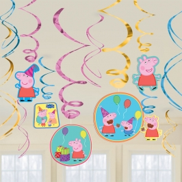 Decoración Colgante Peppa Pig