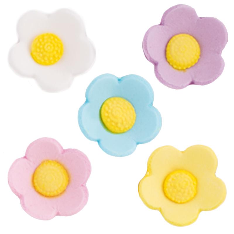 Decoración comestible Flores de azúcar de Colores - My Karamelli