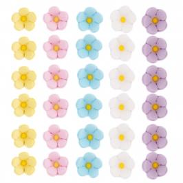 Decoración comestible flores de azúcar Pequeñas - My Karamelli