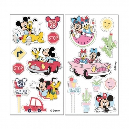 Decoración comestible recortable de Mickey Mouse y amigos con 18 diseños