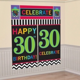 Decoración de pared 30 Años