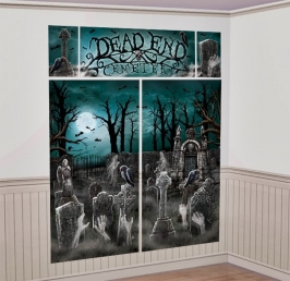 Decoración de Pared Cementerio