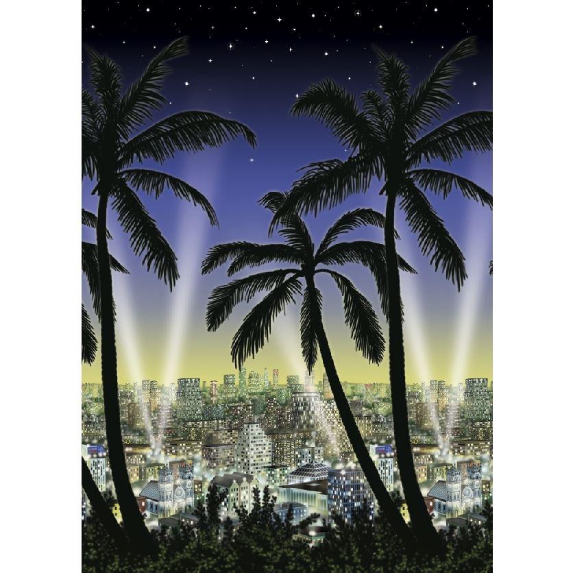 Decoración de Pared Ciudad de Hollywood