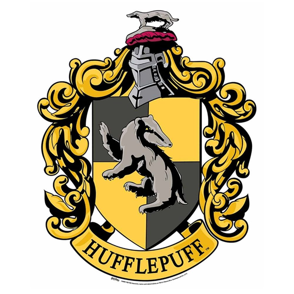 Decoración de Pared Emblema Hufflepuff Harry Potter 61cm​