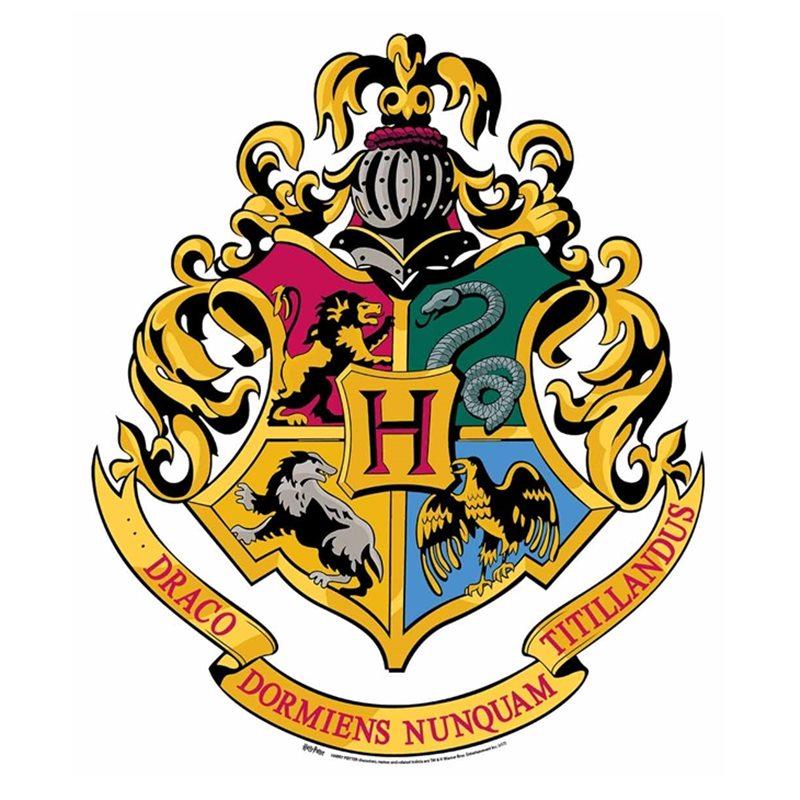 Decoración de Pared Escudo Hogwarts 61cm