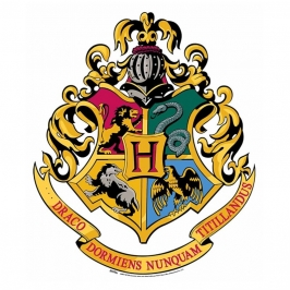 Decoración de Pared Escudo Hogwarts 61cm