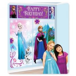 Decoración de pared Frozen Elsa y Anna