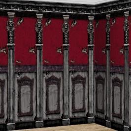 Decoración de pared Mansión Gótica