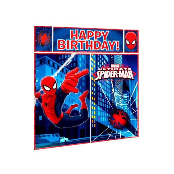 Decoración De Pared Spiderman