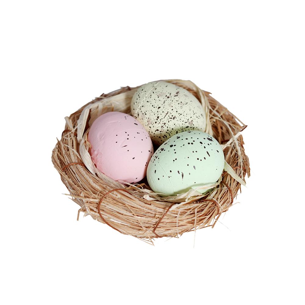 Decoración Nido con Huevos