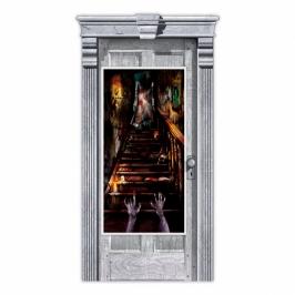 Decoración para Puerta Escalera Tenebrosa