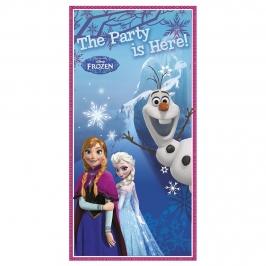 Decoración para puerta Frozen
