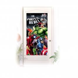 Decoración Para puerta Los Vengadores