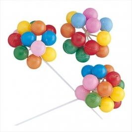 Decoración para Tarta Globos de Colores