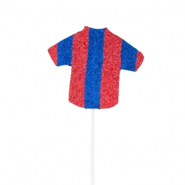 Decoración para Tartas Camiseta Roja y Azul - MY Karamelli