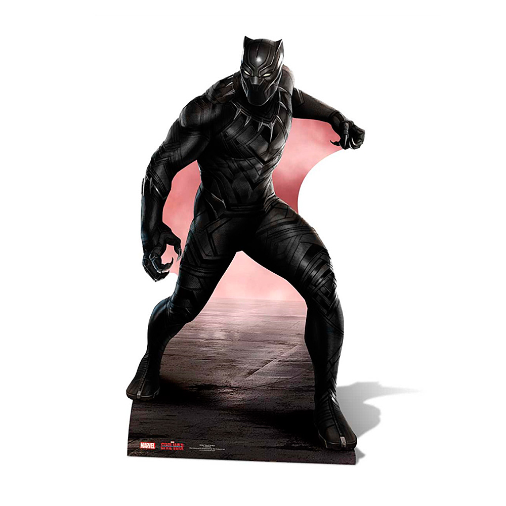 Decoración Photocall Black Panther 177 cm