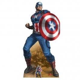 Decoración Photocall Capitán América 184 cm