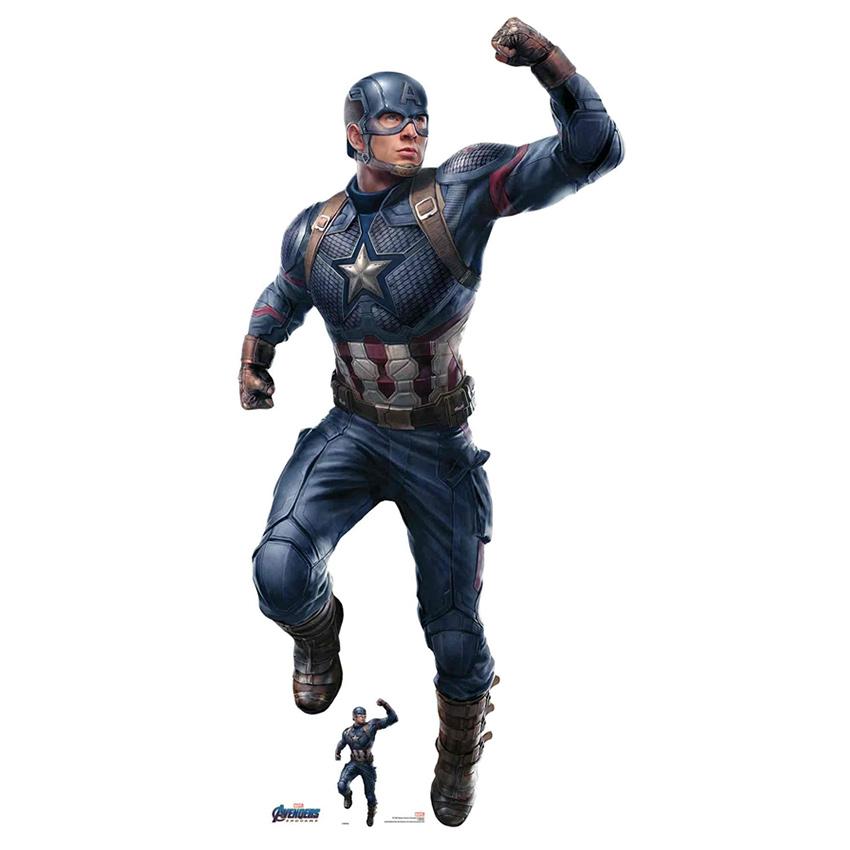 Decoración Photocall Capitán América 190 cm