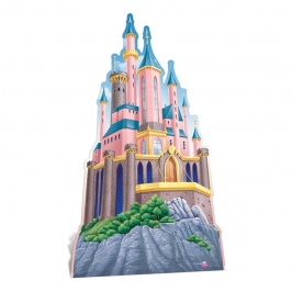 Decoración Photocall Castillo Princesas Disney 175 cm