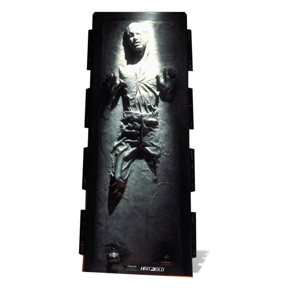 Decoración Photocall Han Solo en Carbonita 180cm