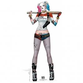 Decoración Photocall Harley Quinn 170cm