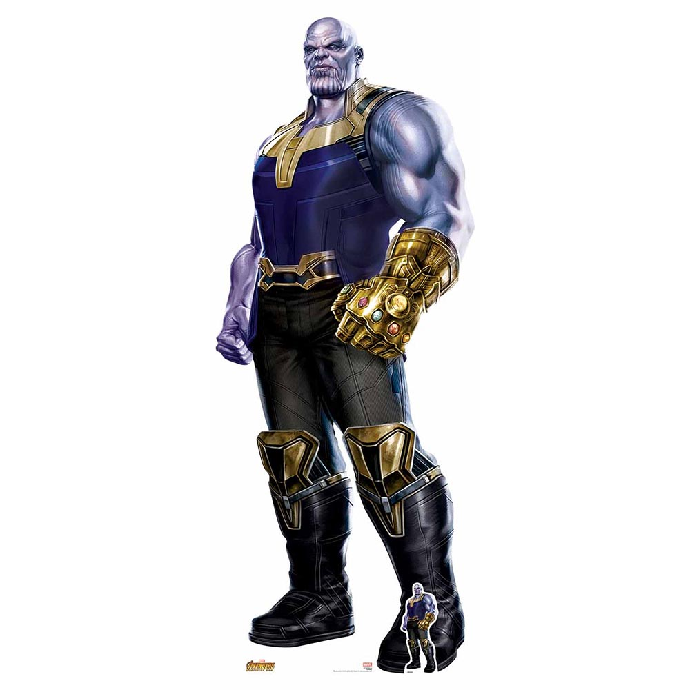 Decoración Photocall Thanos Infinity War 195 cm