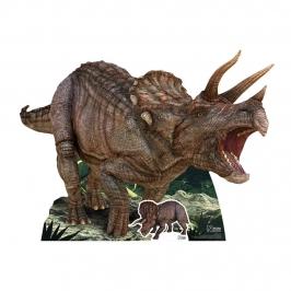 Decoración Photocall Triceratops 128 cm