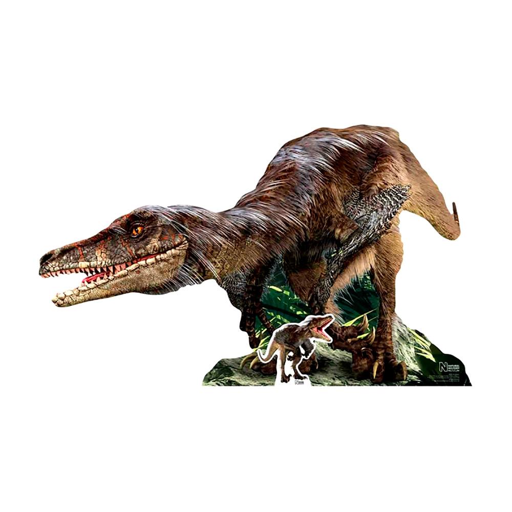 Decoración Photocall Velociraptor 150 cm
