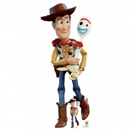 Decoración Photocall Woody y Forky Toy Story 164 cm