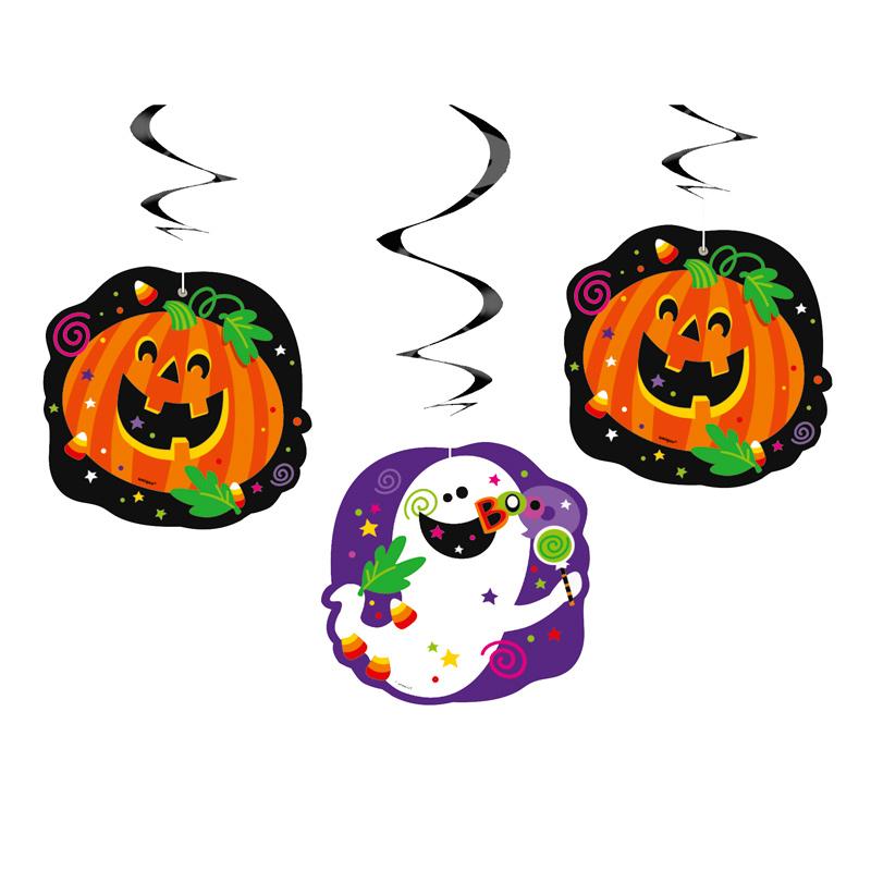 Decoraciones Colgantes Happy Halloween