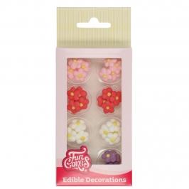 Decoraciones de Azúcar Flores Pequeñas 32 ud