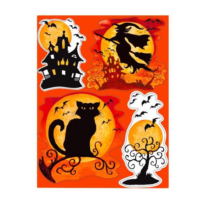 Decoraciones para ventanas halloween comprar online my for Articulos decoracion halloween