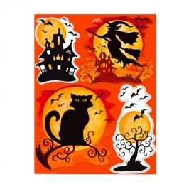 Decoraciones para Ventanas Halloween