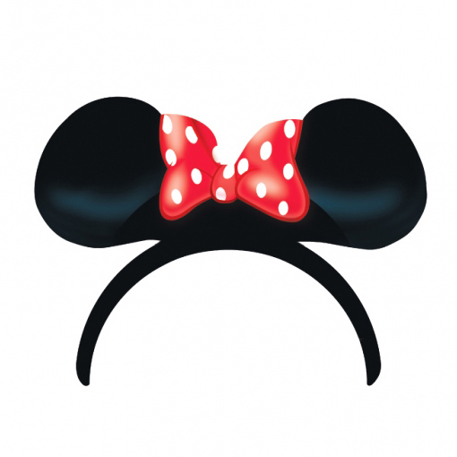 Pack 4 Orejas Minnie Mouse