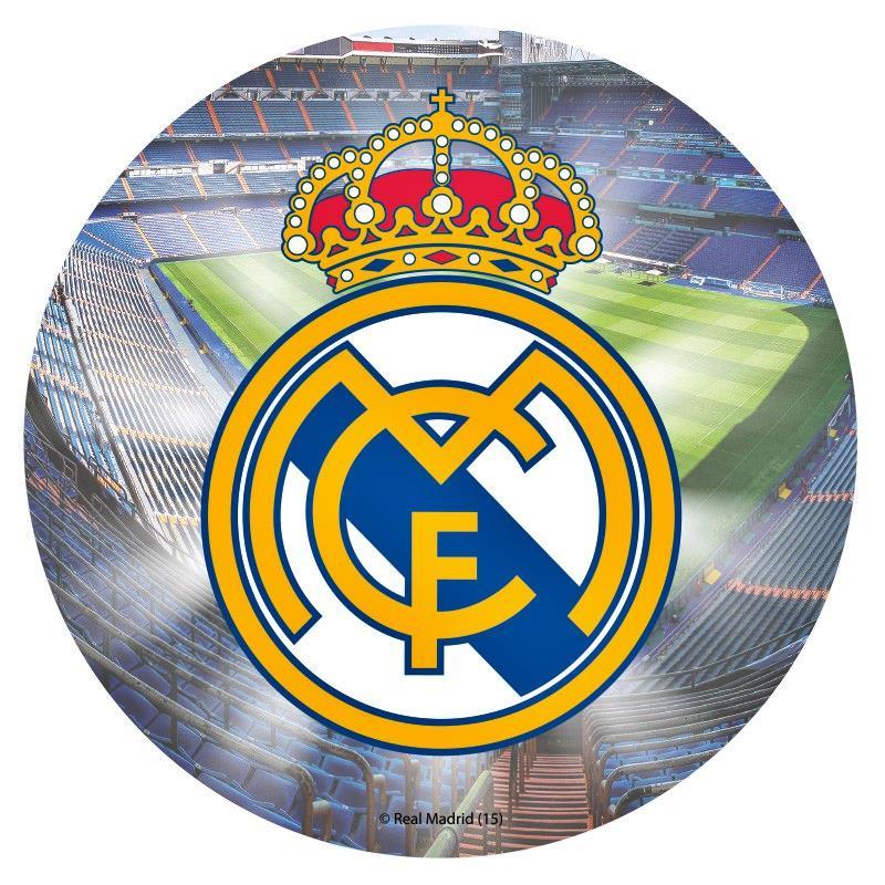 Impresión en papel de azúcar Real Madrid
